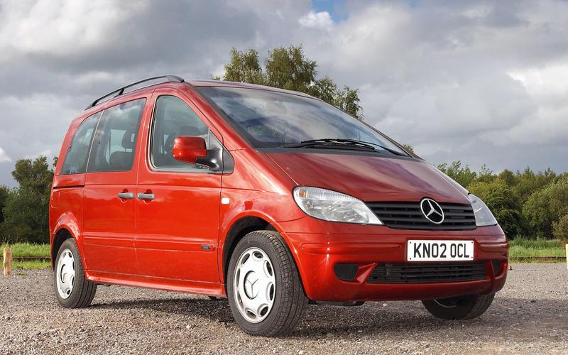 Mercedes-Benz Vaneo (2002-05)