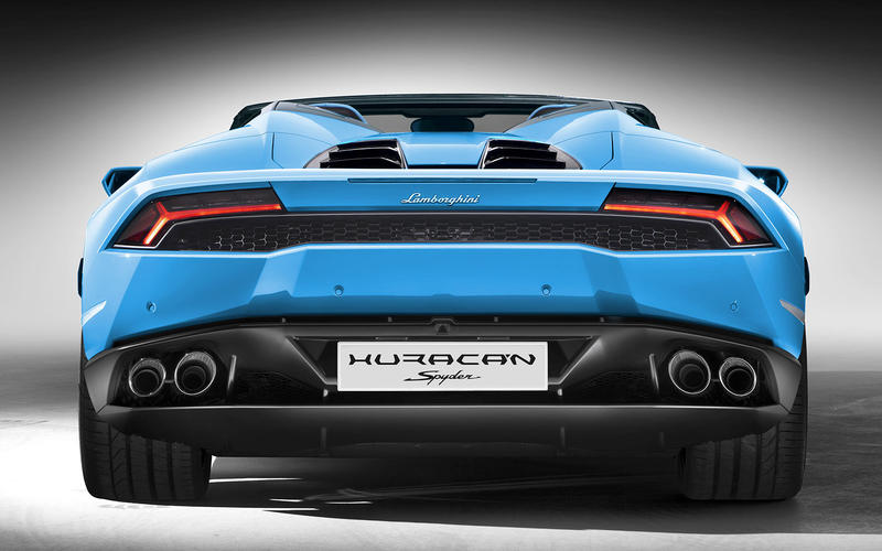 Lamborghini Huracan exhaust