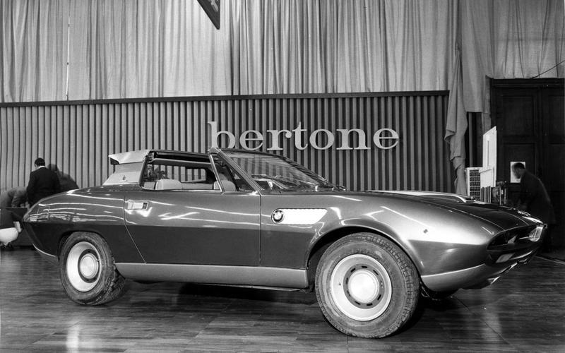 BMW Spicup concept car (1969)
