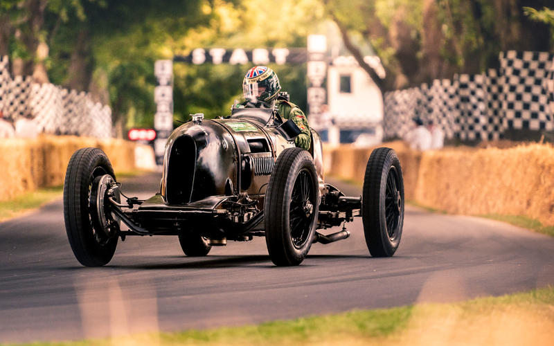 Bentley 'Pacey Hassan Special' at Goodwood Festival of Speed 2019