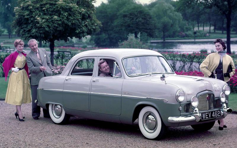 1950 - Ford Consul, Zephyr & Zodiac