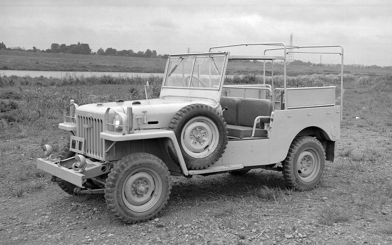 1954: Toyota Land Cruiser