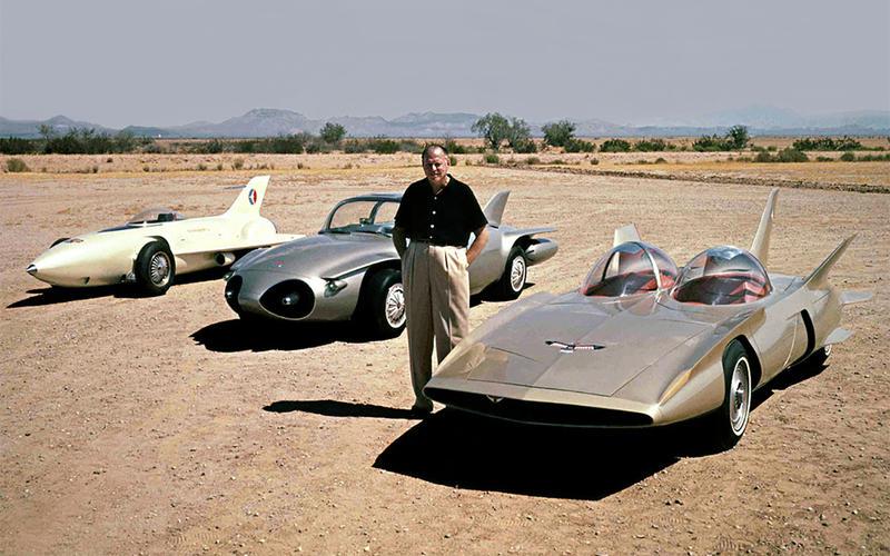 GM Firebird II (1956) & III (1958)