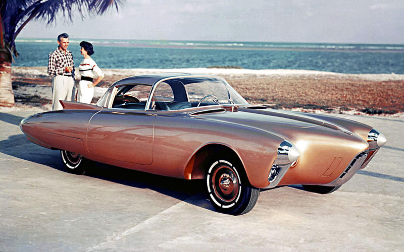 Oldsmobile Golden Rocket (1956)