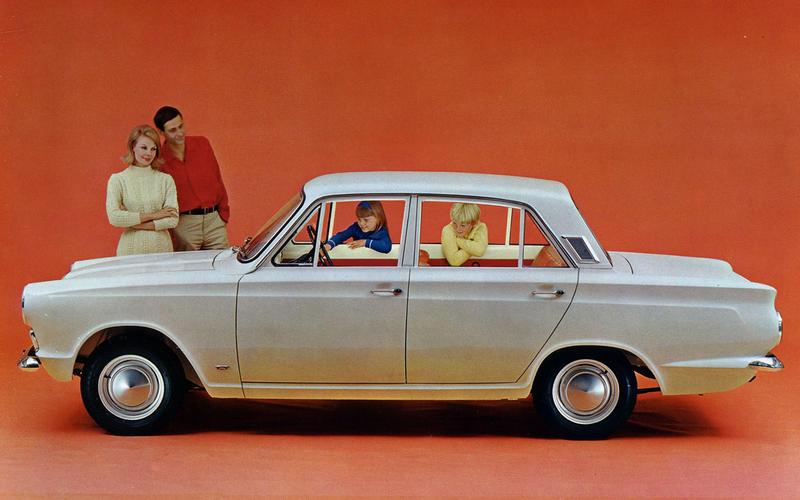 1962: Ford Cortina