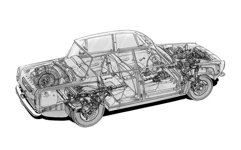 1963: Rover P6