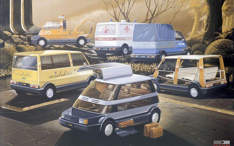 Italdesign Capsula (1982)