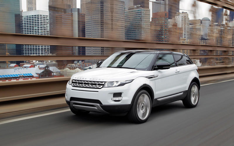 82. 2011 Range Rover Evoque - NEW ENTRY