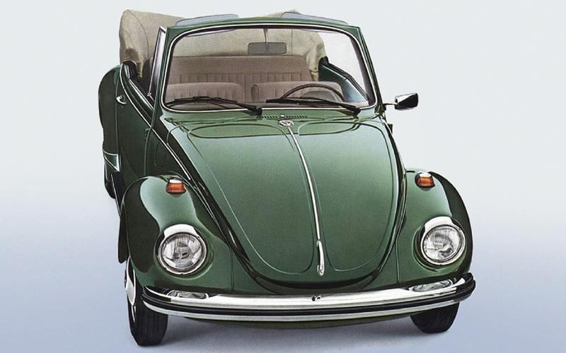 The Beetle's final evolution (1972)