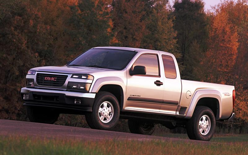 Chevrolet Colorado/GMC Canyon, first generation (2003)