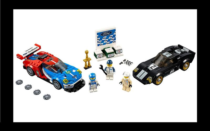 Ford GT and GT40 (Speed Champions set #75881, US$61/£30)