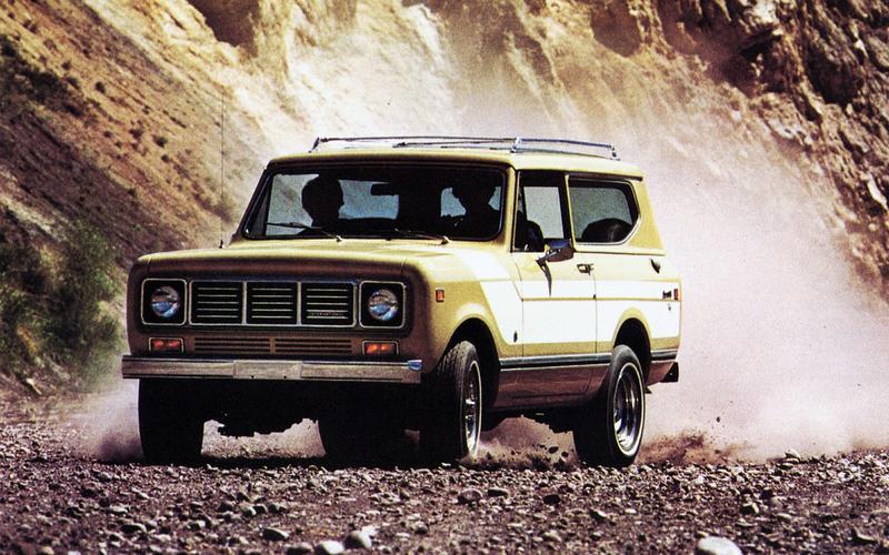International Harvester passenger vehicle: Scout II, 1980