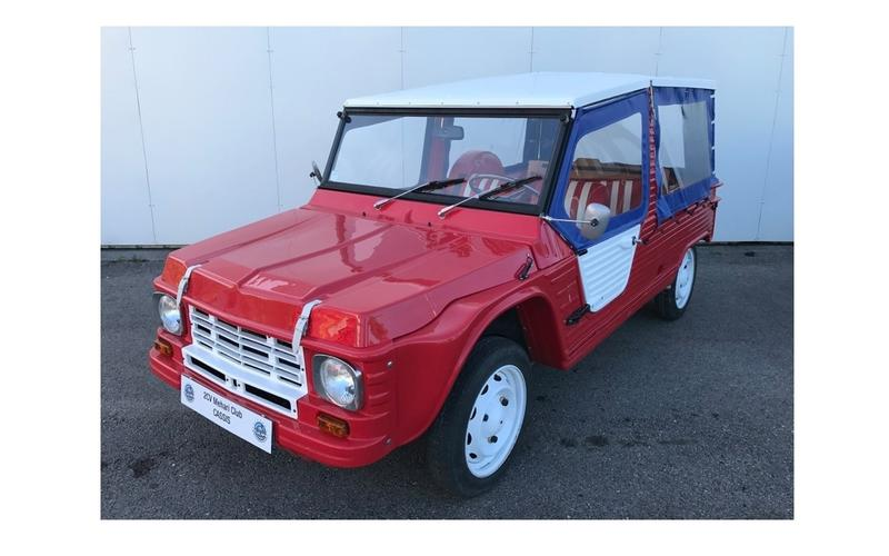 2CV Club Cassis' Citroën Mehari