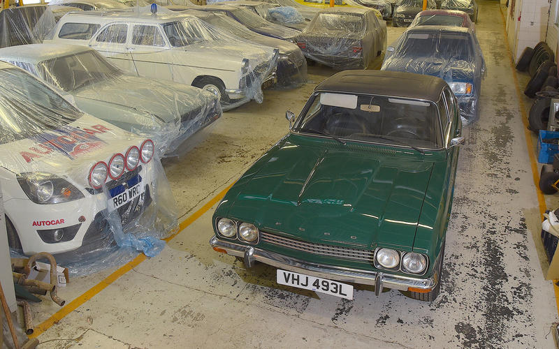 At a location near Ford's giant engine factory in Dagenham in Essex lies some of the company's most treasured possessions.