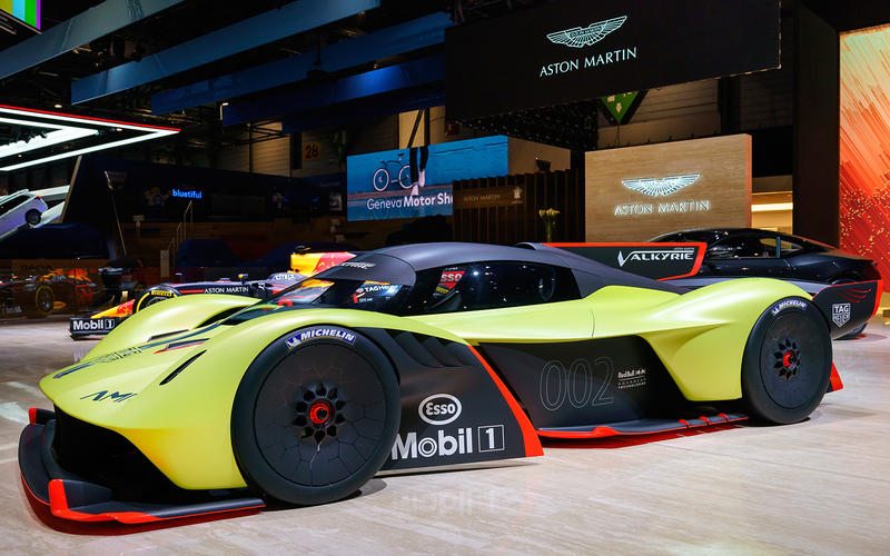 Aston Martin launches track-only Valkyrie AMR Pro