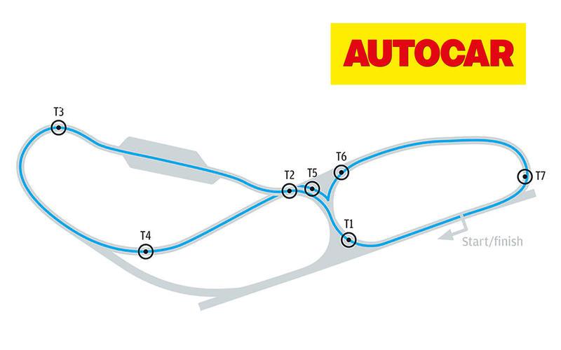 Autocar's handling track