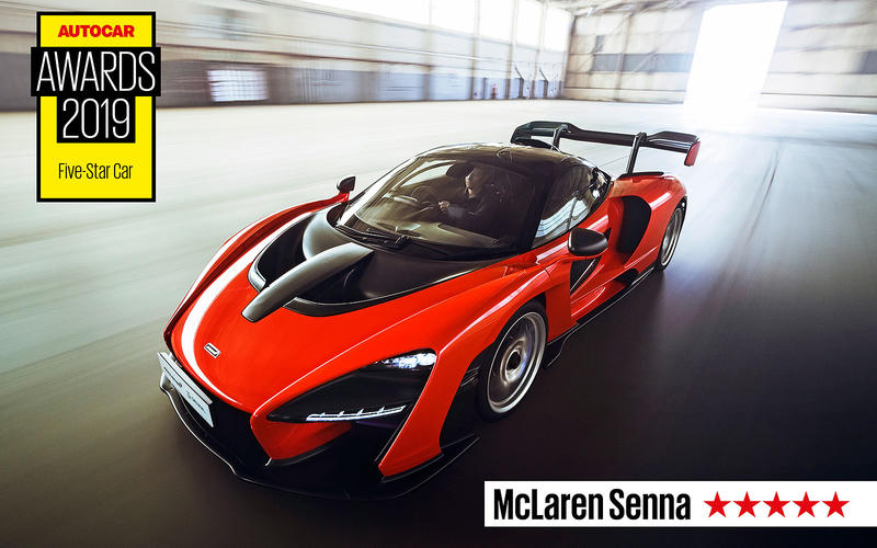 FIVE STAR CAR: McLaren Senna