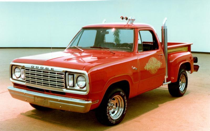 Dodge D150 Little Red Truck (1978)