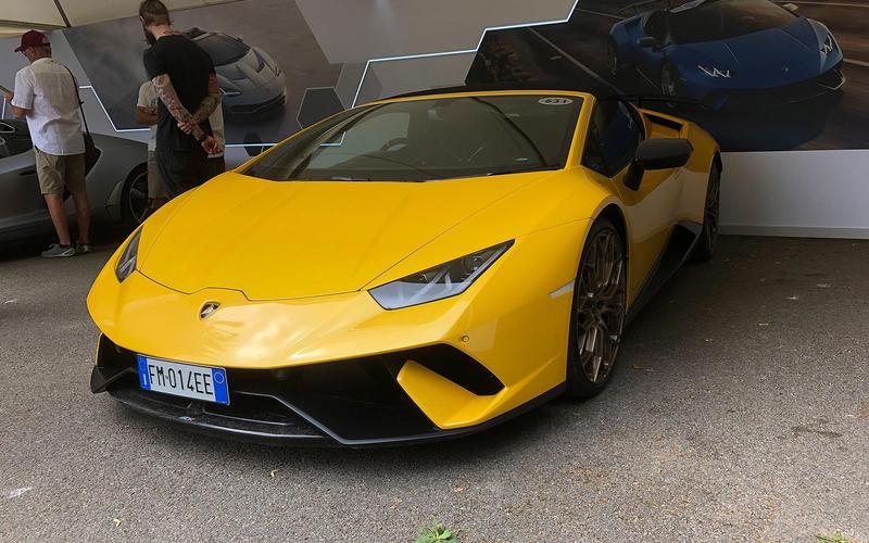 Lamborghini Huaracan Performante Spyder