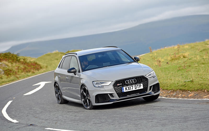 50: Audi RS3 - from £45,705