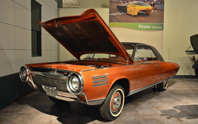 Turbine-powered cars (1940s to 1960s)