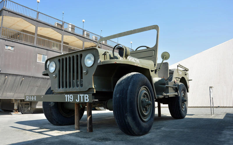 The giant Willys Jeep
