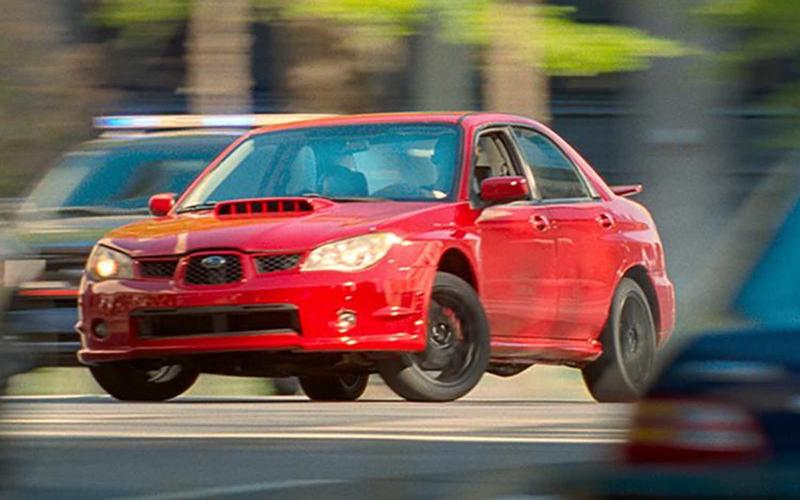 Subaru Impreza WRX (Baby Driver, 2017)