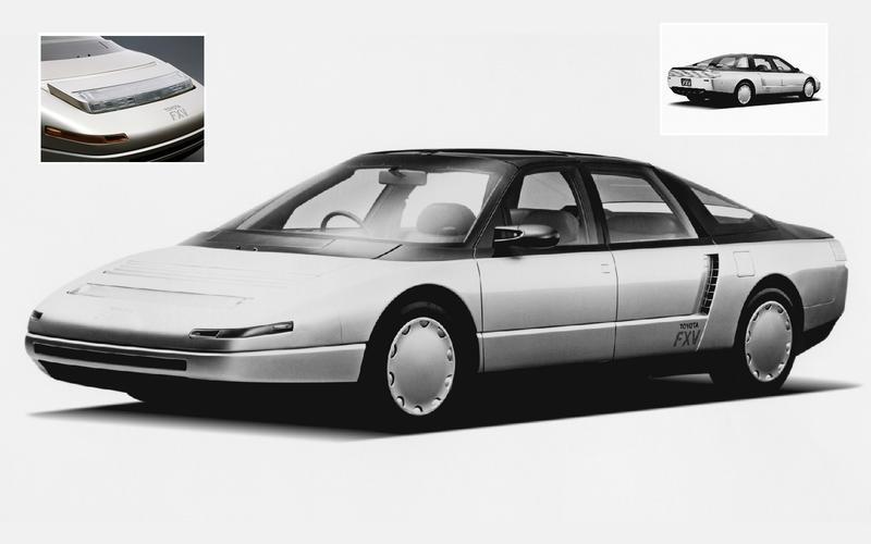 Toyota FXV concept (1985)