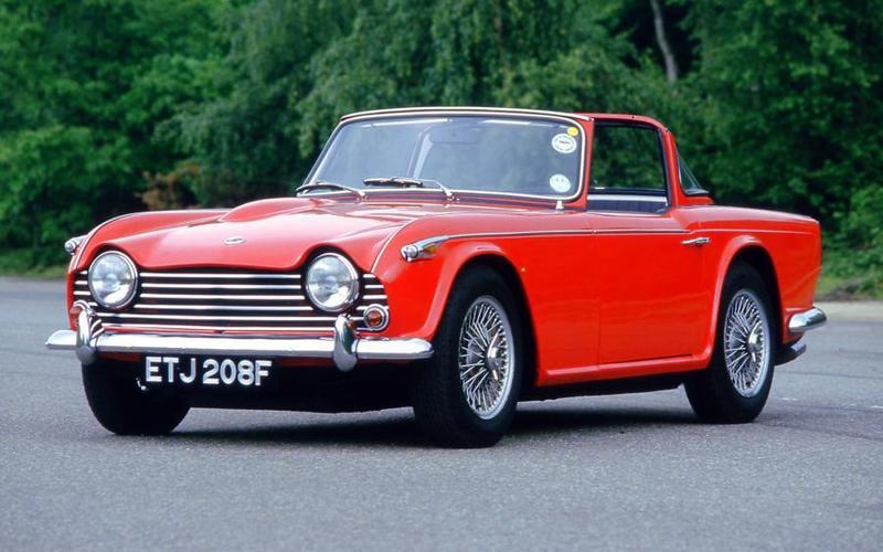 Triumph TR4 (1961)