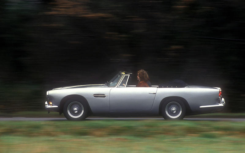 81. 1961 Aston Martin DB4 Convertible