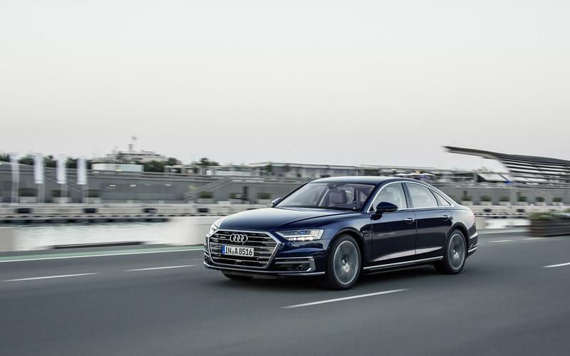 Audi A8 with Traffic Jam Pilot (2018)