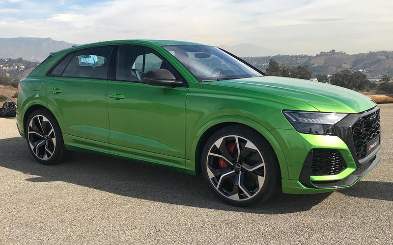 Early 2020: Audi RS Q8