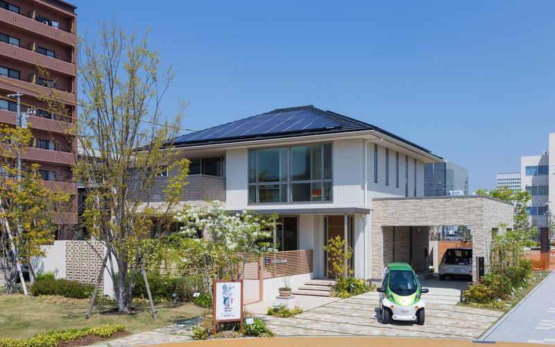 Toyota's houses
