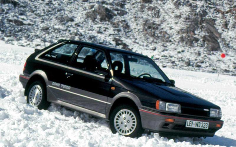 Mazda 323 4x4 Turbo – 7 on the road