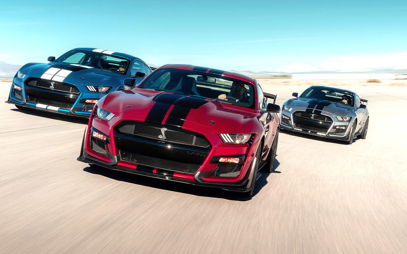 Ford Shelby GT500 (2019, 2020)
