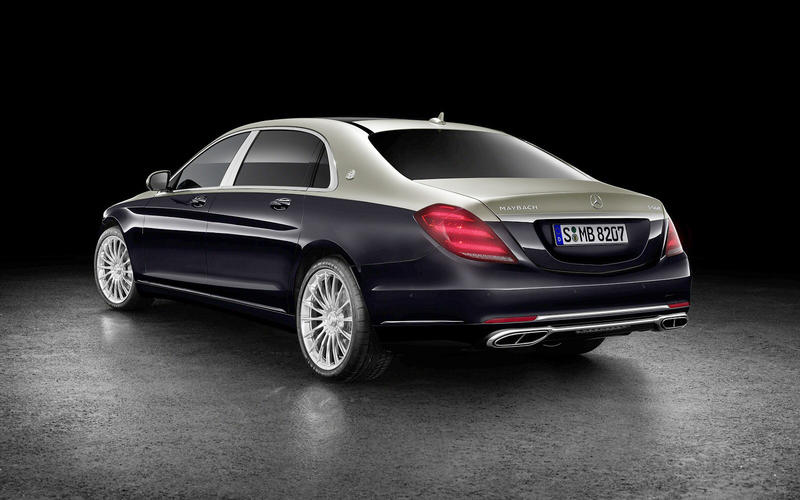 Mercedes-Maybach: two-tone paint