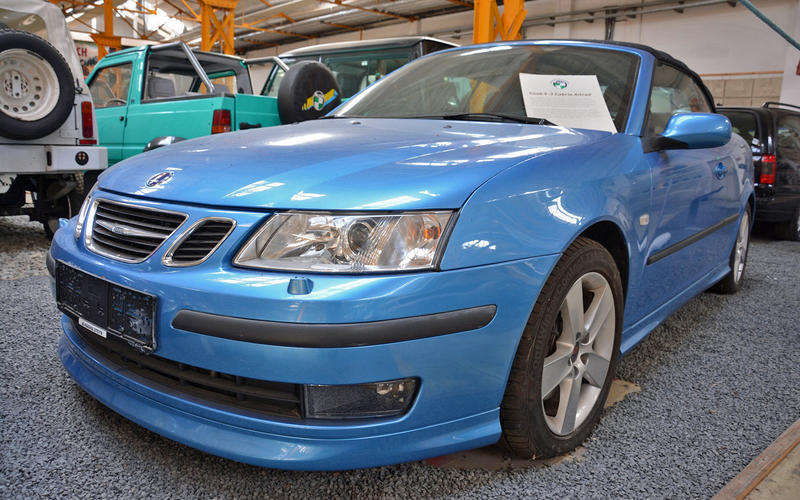 Saab 9-3 Convertible all-wheel drive prototype (2009)