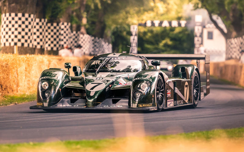 Bentley EXP Speed 8 at Goodwood Festival of Speed 2019