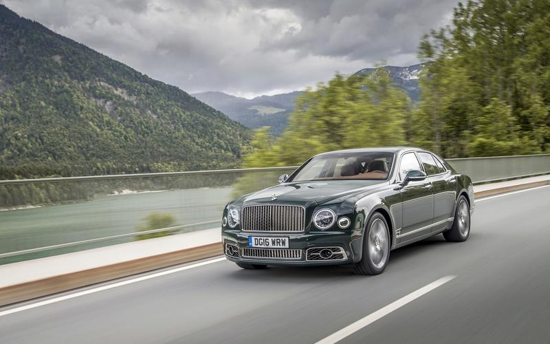 Bentley Mulsanne – 5977lb (2717kg)