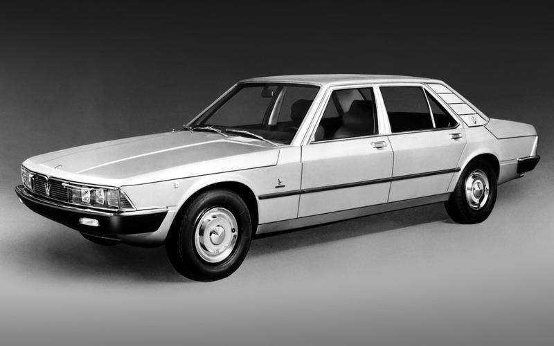The Maserati Quattroporte II (1974)