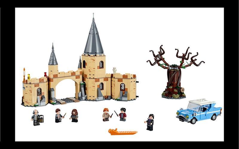 Ford Anglia (Harry Potter set #73953, US$64/£60)