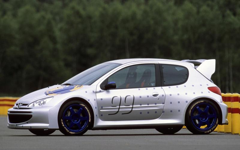 3: Peugeot 206 GT (1999)