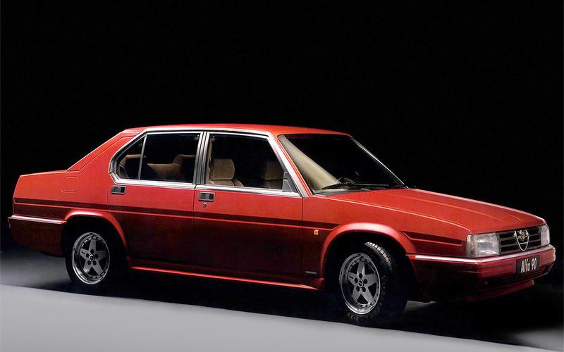 ACTIVE FRONT SPOILER: Alfa Romeo 90 (1984)