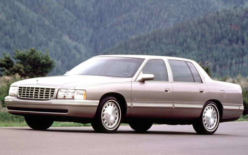 Cadillac's 1997 range (1996)