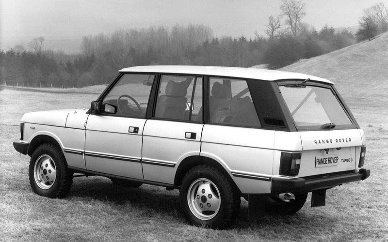 The first Range Rover diesel