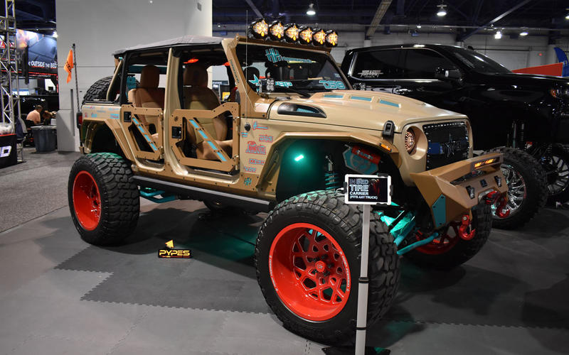 Jeep Wrangler custom