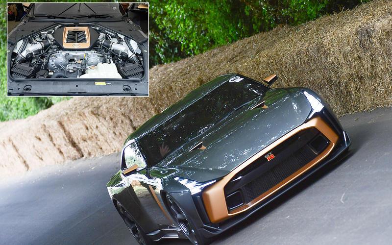 Nissan GT-R50: 186.9bhp/litre