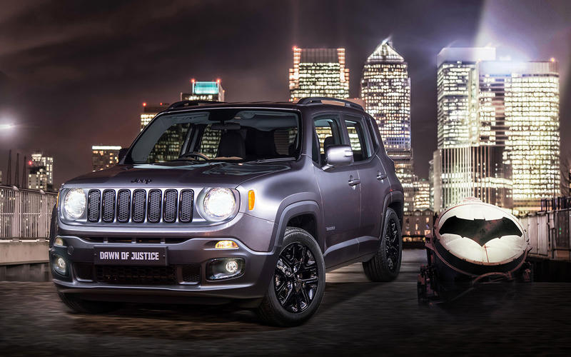 Jeep Renegade Dawn of Justice (2016)