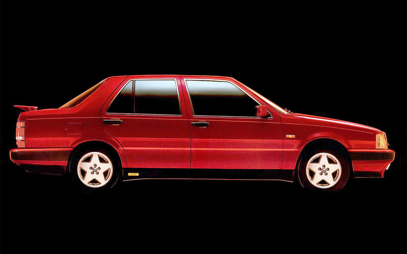 POP-UP SPOILER: Lancia Thema 8.32 (1986)