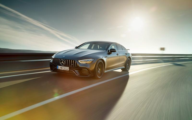 Mercedes-AMG GT Four-Door Coupe (2018)